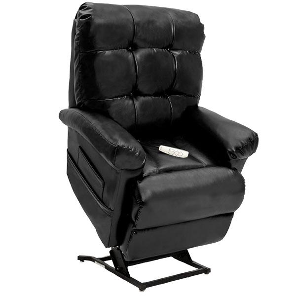 black lift recliner
